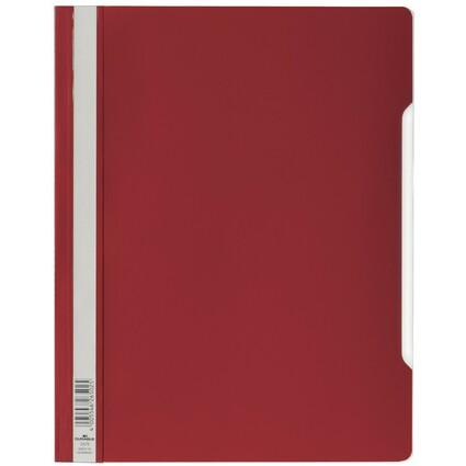 DURABLE Schnellhefter, DIN A4, aus Hartfolie, rot