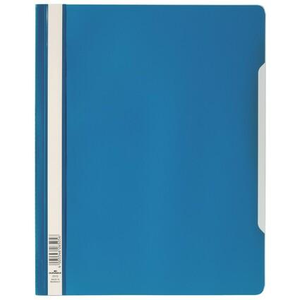 DURABLE Schnellhefter, DIN A4, aus Hartfolie, blau