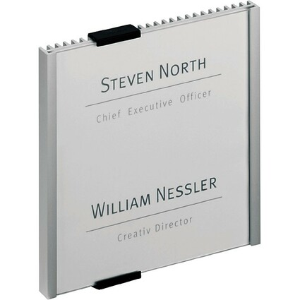 DURABLE Türschild INFO SIGN, (B)149 x (H)148,5 mm