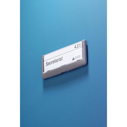 DURABLE Türschild CLICK SIGN, (B)149 x (H)52,5 mm, graphit