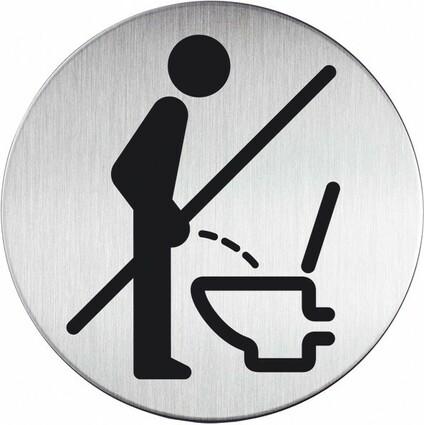 """DURABLE Piktogramm """"Bitte setzen"""", Durchmesser: 83 mm"""