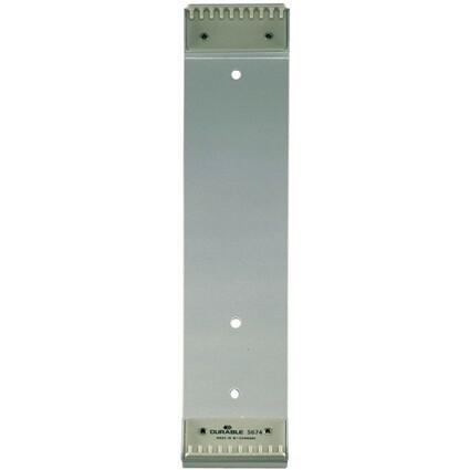 DURABLE Wandhalter FUNCTION, für 10 Sichttafeln DIN A4, grau