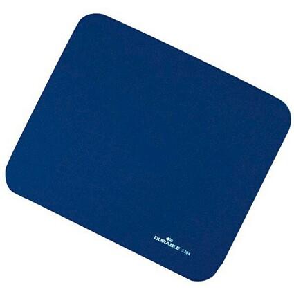 DURABLE Maus Pad, Textiloberfläche, blau