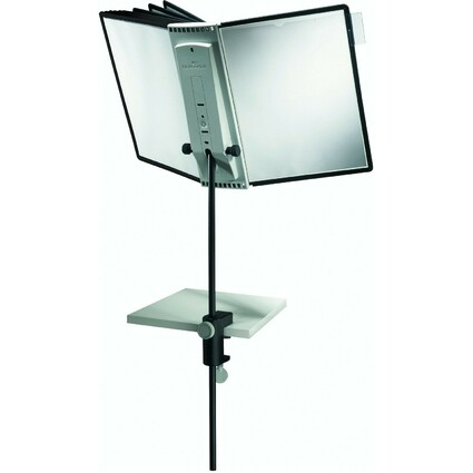 DURABLE Display-System SHERPA DESK CLAMP 10, Komplett-Set