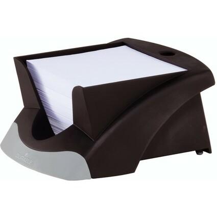 DURABLE Zettelbox NOTE BOX VEGAS, schwarz/silber
