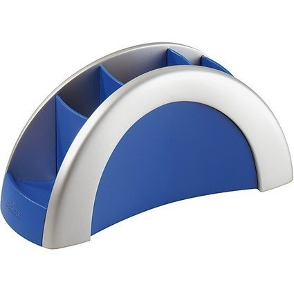 DURABLE Multiköcher PEN HOLDER VEGAS, silber/blau