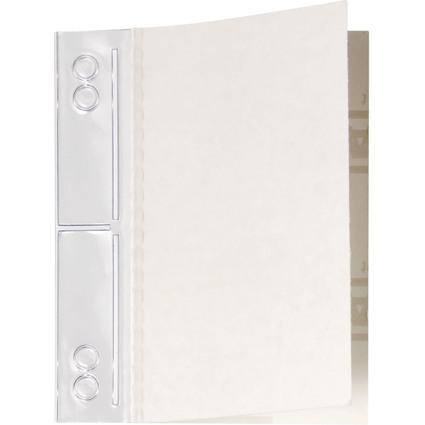 DURABLE Heftstreifen Filefix maxi, 60 x 100 mm, transparent
