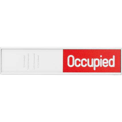 "FRANKEN Hinweisschild ""Free-Occupied"", (B)152 x (H)37,4 mm"