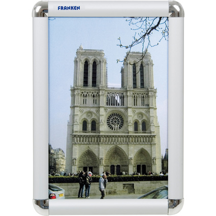 FRANKEN Plakatrahmen DIN A4, 25 mm Rahmenprofil