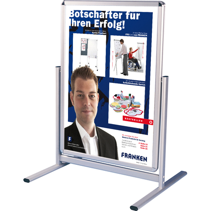 "FRANKEN Plakatständer ""Outdoor"", DIN A1, (B)594 x (H)841 mm"