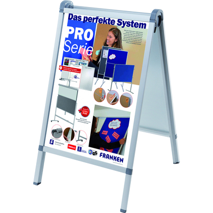 "FRANKEN Plakatständer ""Outdoor PRO"", DIN A1, 652 x 1.100 mm"