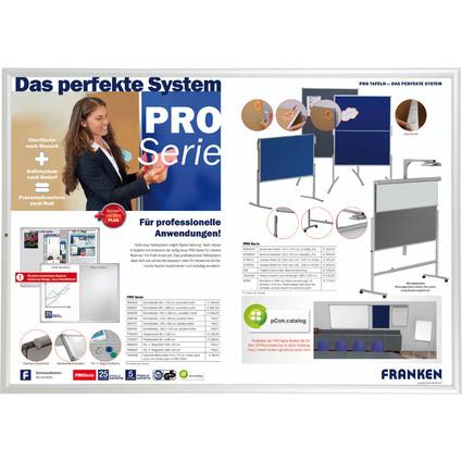 FRANKEN Plakatrahmen Security, DIN A0, 32 mm Rahmenprofil
