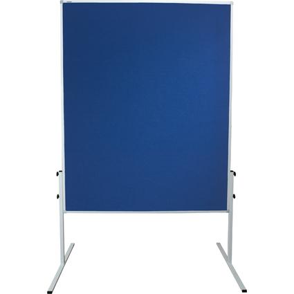 FRANKEN Moderationstafel X-tra!Line, Filz, Farbe: blau