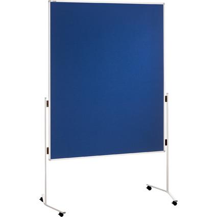 FRANKEN Moderationstafel ECO, 1.200 x 1.500 mm, Filz, blau