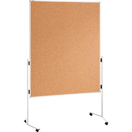 FRANKEN Moderationstafel ECO, 1.500 x 1.200 mm, Kork braun