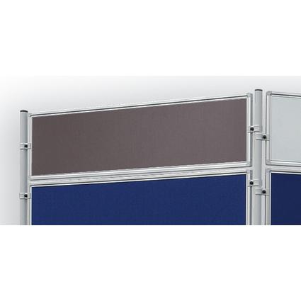FRANKEN Textiltafel für Stellwandsystem ECO, 1.200 x 300 mm