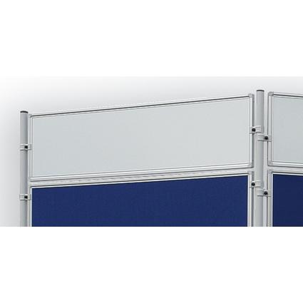 FRANKEN Weißwandtafel f. Stellwandsystem ECO, 1.200 x 300 mm