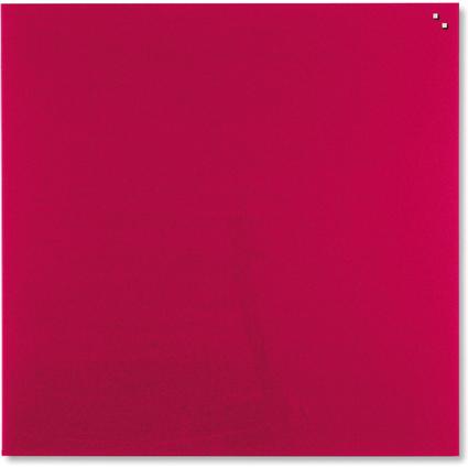 FRANKEN Glas-Magnettafel, (B)1.000 x (H)1.000 mm, rot