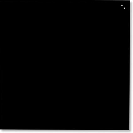 FRANKEN Glas-Magnettafel, (B)350 x (H)350 mm, schwarz