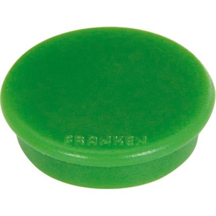 FRANKEN Haftmagnet U-Act! Line, Durchm.: 24 mm, grün