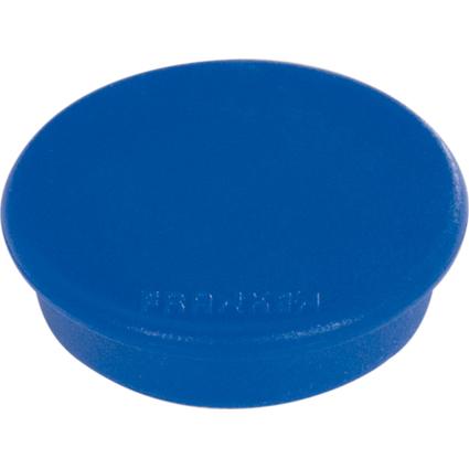 FRANKEN Haftmagnet, Haftkraft: 2.500 g, Durchm. 38 mm, blau