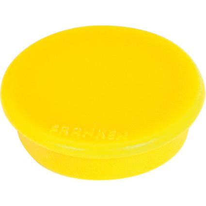 FRANKEN Haftmagnet, Haftkraft: 2.500 g, Durchm. 38 mm, gelb