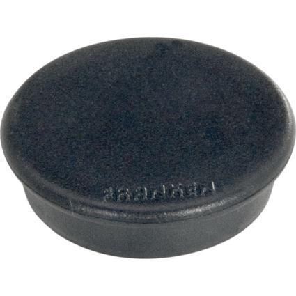 FRANKEN Haftmagnet, Haftkraft: 100 g, Durchm. 13 mm, schwarz