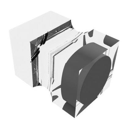 """FRANKEN Neodym-Magnet """"Stempel"""", Haftkraft: 13.500 g, Acryl"""