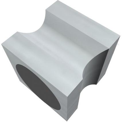 "FRANKEN Neodym-Magnet ""Stempel"", Haftkraft: 11.500 g, Alu"