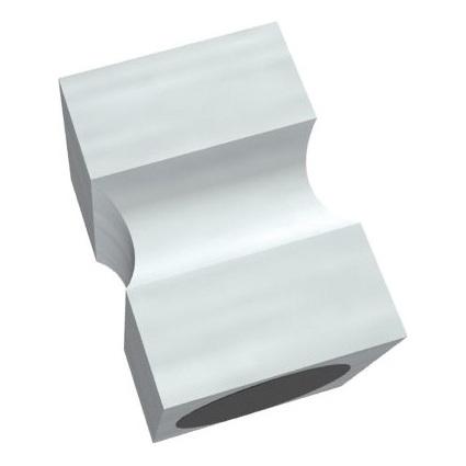 "FRANKEN Neodym-Magnet ""Stempel"", Haftkraft: 13.500 g, Alu"