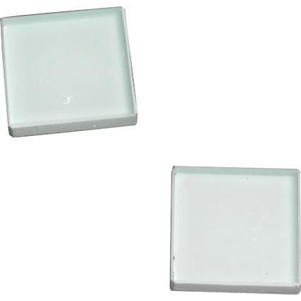 FRANKEN Neodym-Glasmagnet, (B)25 x (T)25 x (H)8 mm, weiß