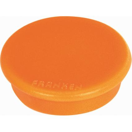 FRANKEN Haftmagnet MagFun, Durchmesser: 32 mm, orange