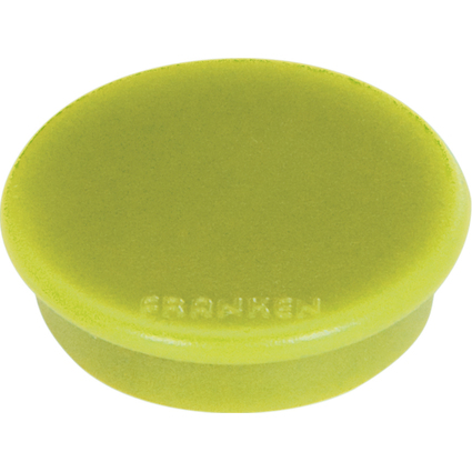 FRANKEN Haftmagnet MagFun, Durchmesser: 32 mm, hellgrün