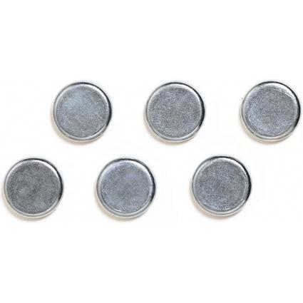 FRANKEN Chrom-Haftmagnet, Haftkraft: 13.000 g, Durchm. 25 mm