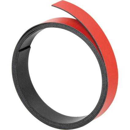 FRANKEN Magnetband, (L)1.000 x (T)10 x (H)1 mm, rot