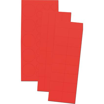 FRANKEN Magnetsymbole Kombiset, rot