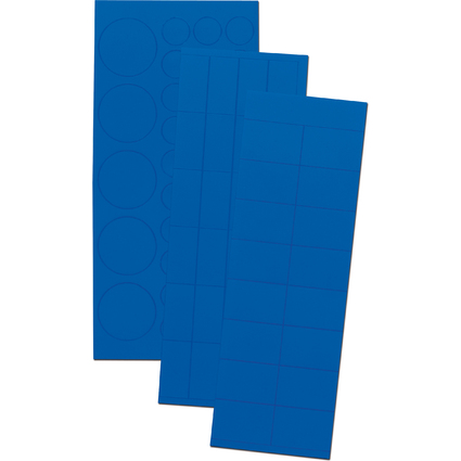 FRANKEN Magnetsymbole Kombiset, dunkelblau