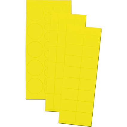 FRANKEN Magnetsymbole Kombiset, gelb
