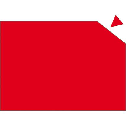 FRANKEN Magnetplatte, 200 x 295 x 0,6 mm, rot