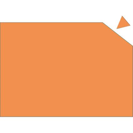 FRANKEN Magnetplatte, 200 x 295 x 0,6 mm, orange