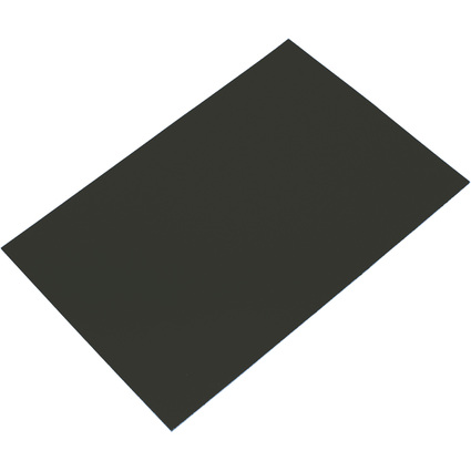FRANKEN Magnetplatte, 200 x 295 x 0,6 mm, schwarz