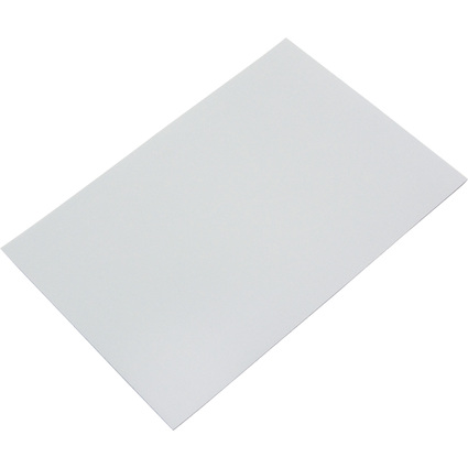 FRANKEN Magnetplatte, 200 x 295 x 0,6 mm, grau