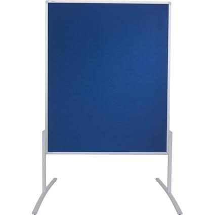 FRANKEN Moderationstafel PRO, 1.200 x 1.500 mm, Filz blau