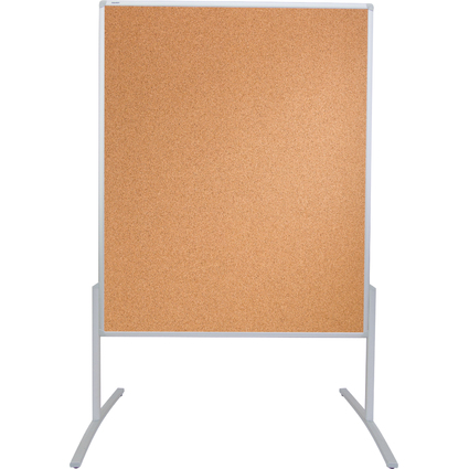 FRANKEN Moderationstafel PRO, 1.200 x 1.500 mm, Kork braun