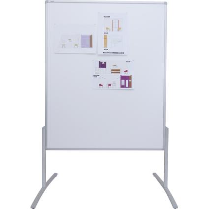 FRANKEN Moderationstafel PRO, 1.200 x 1.500 mm, Karton weiß