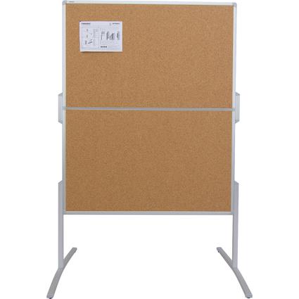 FRANKEN Moderationstafel PRO, klappbar, Kork-Oberfläche