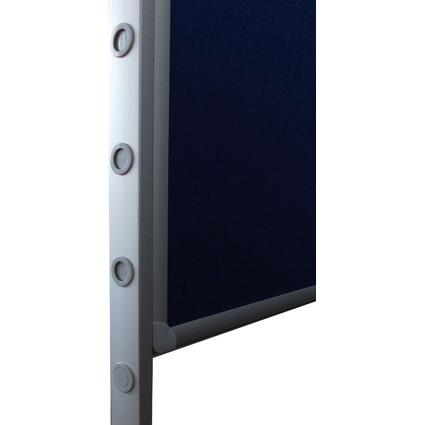 FRANKEN Standbeine für Tafel-System PRO, höhenverstellbar