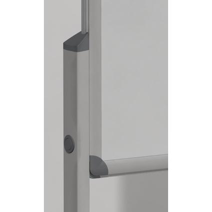 FRANKEN Standbeine für Tafel PRO, Aluminium, silber