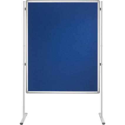 FRANKEN Textiltafel PRO, (B)1.200 x (H)1.800 mm, Filz, blau
