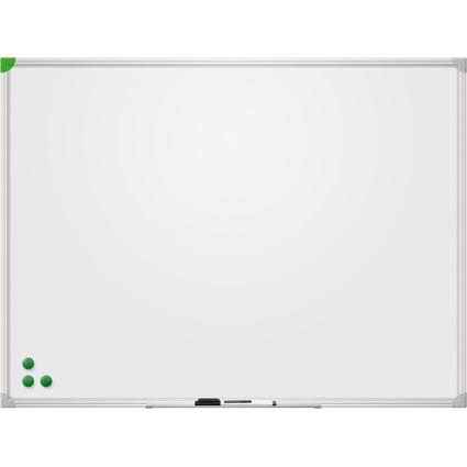FRANKEN Weißwandtafel U-Act! Line, emailliert, 900 x 600 mm